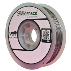 PLA METALLIC SILVER 1KG SPOOL 1.75MM DIA
