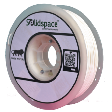 ABS WHITE 1KG SPOOL 1.75MM DIA
